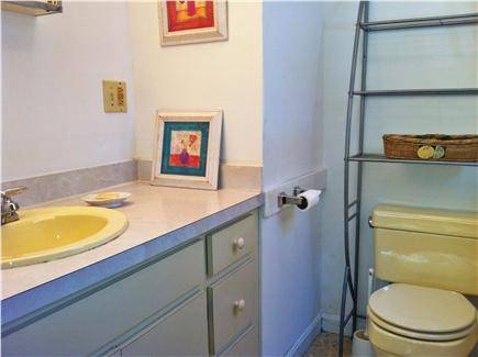 North Eastham Cape Cod vacation rental - Half Bath in Master Bedroom