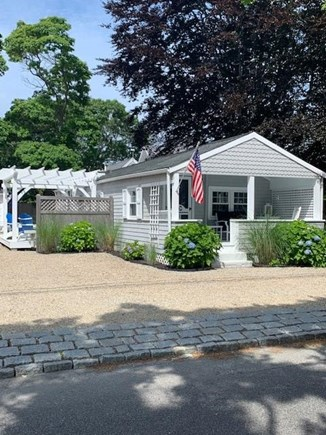 Falmouth Heights Cape Cod vacation rental - South facing deck! Sun all day!