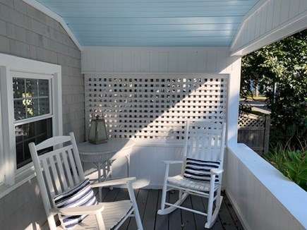 Falmouth Heights Cape Cod vacation rental - Enjoy morning coffee on sunny front porch