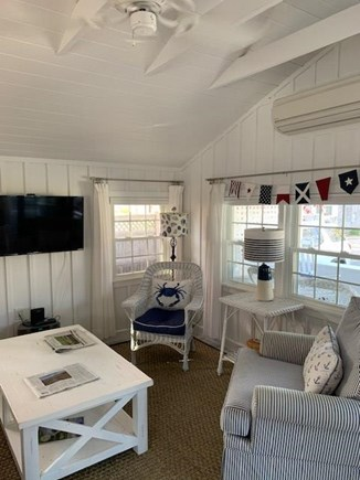 Falmouth Heights Cape Cod vacation rental - Lofted ceilings with fans