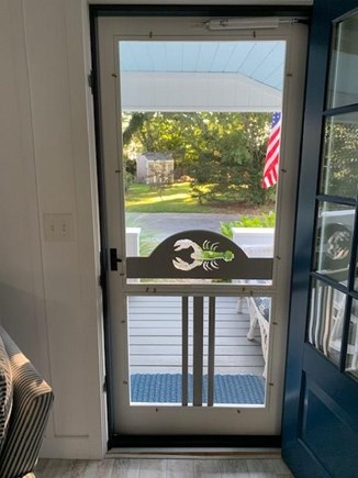 Falmouth Heights Cape Cod vacation rental - Your view from inside the cottage looking South