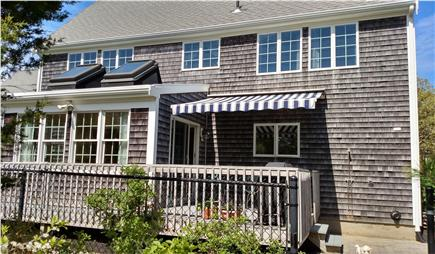 Eastham Cape Cod vacation rental - Awning on Deck