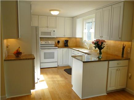 Eastham Cape Cod vacation rental - Sunny kitchen with granite countertops