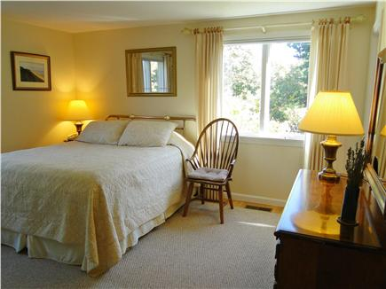 Eastham Cape Cod vacation rental - First floor bedroom with queen bed, private bath