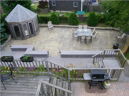 Provincetown Cape Cod vacation rental - Backyard from Second Floor