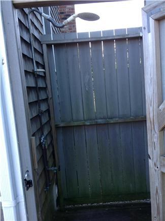 Provincetown Cape Cod vacation rental - Outdoor Shower