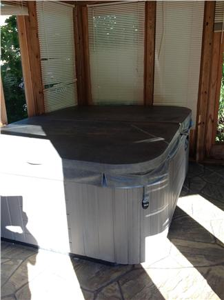 Provincetown Cape Cod vacation rental - Hot Tub in Gazebo