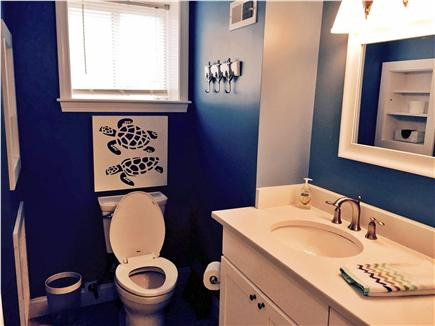 Falmouth Heights Cape Cod vacation rental - Lower level - full bath with tub