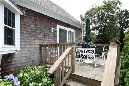 Chatham Cape Cod vacation rental - Spacious deck