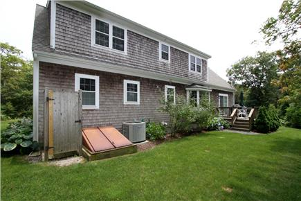 Chatham Cape Cod vacation rental - Back Exterior with enclosed outdoor shower