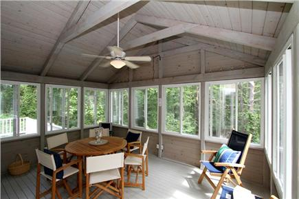 Brewster Cape Cod vacation rental - Spacious Screened Porch