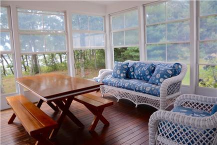 Brewster Cape Cod vacation rental - Screened Porch w/ Views of Long Pond