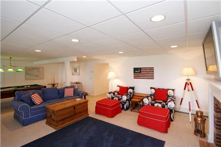 Brewster Cape Cod vacation rental - Lower Level Game Room & Media Room