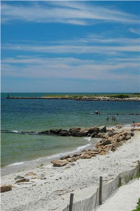 Harwich Port Cape Cod vacation rental - Hiawatha Road Beach to the west