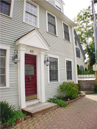 Provincetown Cape Cod vacation rental - 4 windows on 2 floors at right are at front of the unit