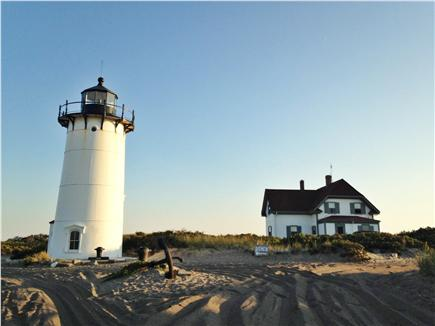 Truro Cape Cod vacation rental - Race Point Light via 4 wheel drive vehicle