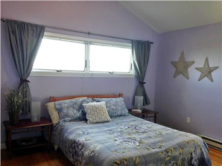 Truro Cape Cod vacation rental - Master bedroom with dunes view