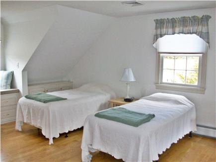 Chatham Cape Cod vacation rental - 2nd floor bedroom with queen & twins (showing twins)