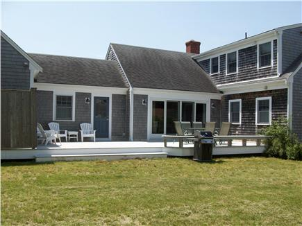 Chatham Cape Cod vacation rental - Rear view with deck and outside shower