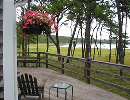 S. Wellfleet Cape Cod vacation rental - View of Drummer Cove from Deck