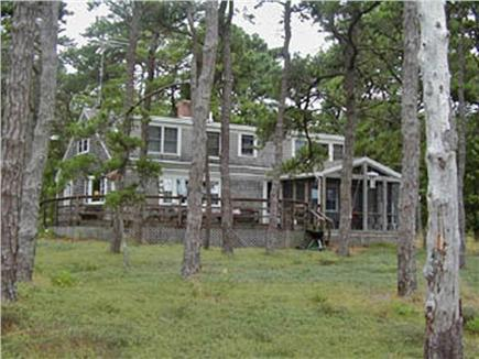S. Wellfleet Cape Cod vacation rental - Back of the house from the Cove