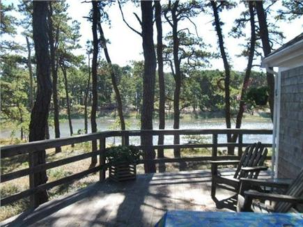 S. Wellfleet Cape Cod vacation rental - View of the Cove to the south from the deck