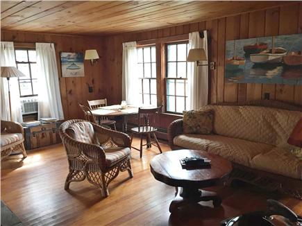 Woods Hole Woods Hole vacation rental - Living Room and Dining Area