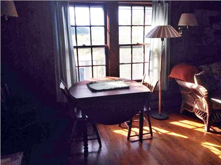 Woods Hole Woods Hole vacation rental - Dining Area with View of Buzzards Bay