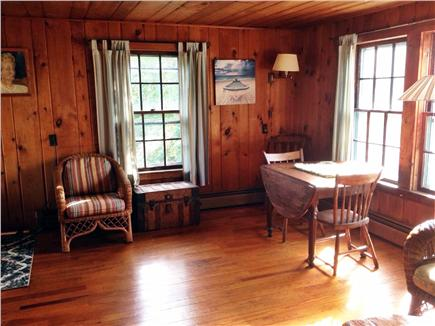 Woods Hole Woods Hole vacation rental - Dining Area with view over Buzzards Bay