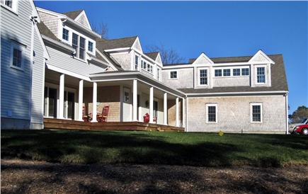 Dennis Cape Cod vacation rental - Side View from front yard