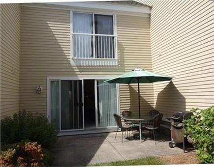 Ocean Edge, Brewster Cape Cod vacation rental - Patio area with backyard