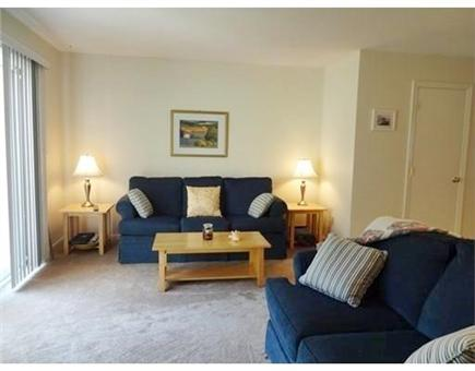 Ocean Edge, Brewster Cape Cod vacation rental - Spacious Living Room with pull-out sofa