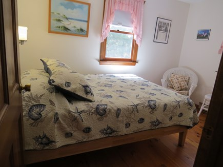 North Eastham Cape Cod vacation rental - 1st Mates First Floor Bedroom W/Queen Size Bed W/Ceiling Fan/AC