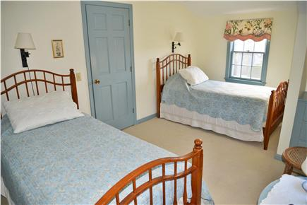 Barnstable Cape Cod vacation rental - Upstairs twin bedroom has ocean view