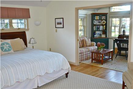 Barnstable Cape Cod vacation rental - Master bedroom suite with private den, bathroom has ocean views