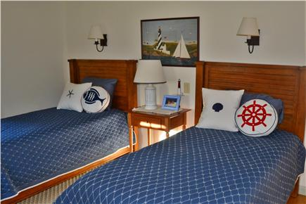 Barnstable Cape Cod vacation rental - Twin downstairs bedroom is across from full bath