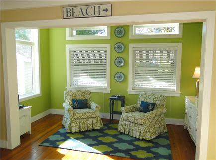 West Harwich Cape Cod vacation rental - Sunlit cozy sitting area, part of larger living room