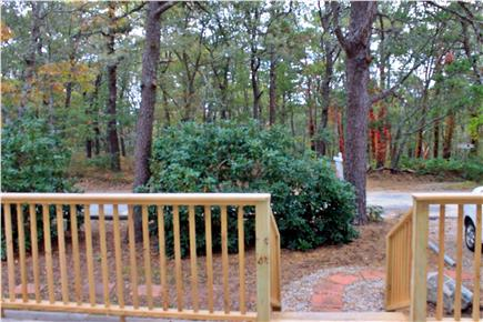 Dennis Cape Cod vacation rental - Conservation Land across the street with walking trails