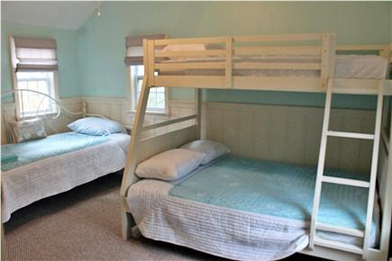 Dennis Cape Cod vacation rental - Bedroom 1 with Bunk (full on the bottom, twin on the top)