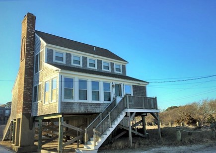 West Dennis Cape Cod vacation rental - House Front Dennis ID # 25704