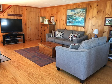 West Dennis Cape Cod vacation rental - Living Room with Flat Screen