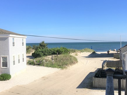 West Dennis Cape Cod vacation rental - View of Ocean from front deck