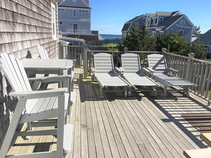 West Dennis Cape Cod vacation rental - Spacious Deck with Water Views