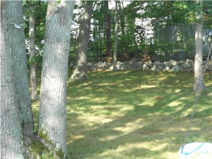 Pocasset Pocasset vacation rental - Back yard