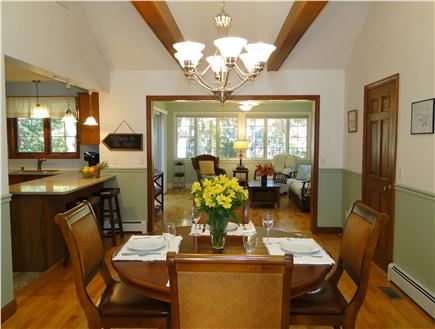 Pocasset Pocasset vacation rental - Vaulted dining area with skylight – seating for 6