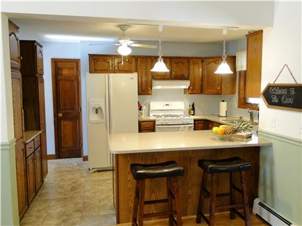Pocasset Pocasset vacation rental - Kitchen with breakfast bar, all appliances