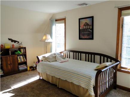 Pocasset Pocasset vacation rental - Upstairs bedroom with trundle bed, books and games for kids