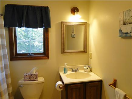 Pocasset Pocasset vacation rental - Upstairs full bath with tub