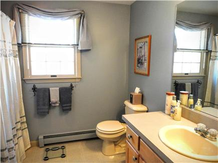Brewster Cape Cod vacation rental - First floor bath with tub / shower combo
