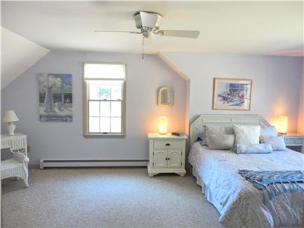 Brewster Cape Cod vacation rental - Other Queen bedroom on second floor with A/C unit